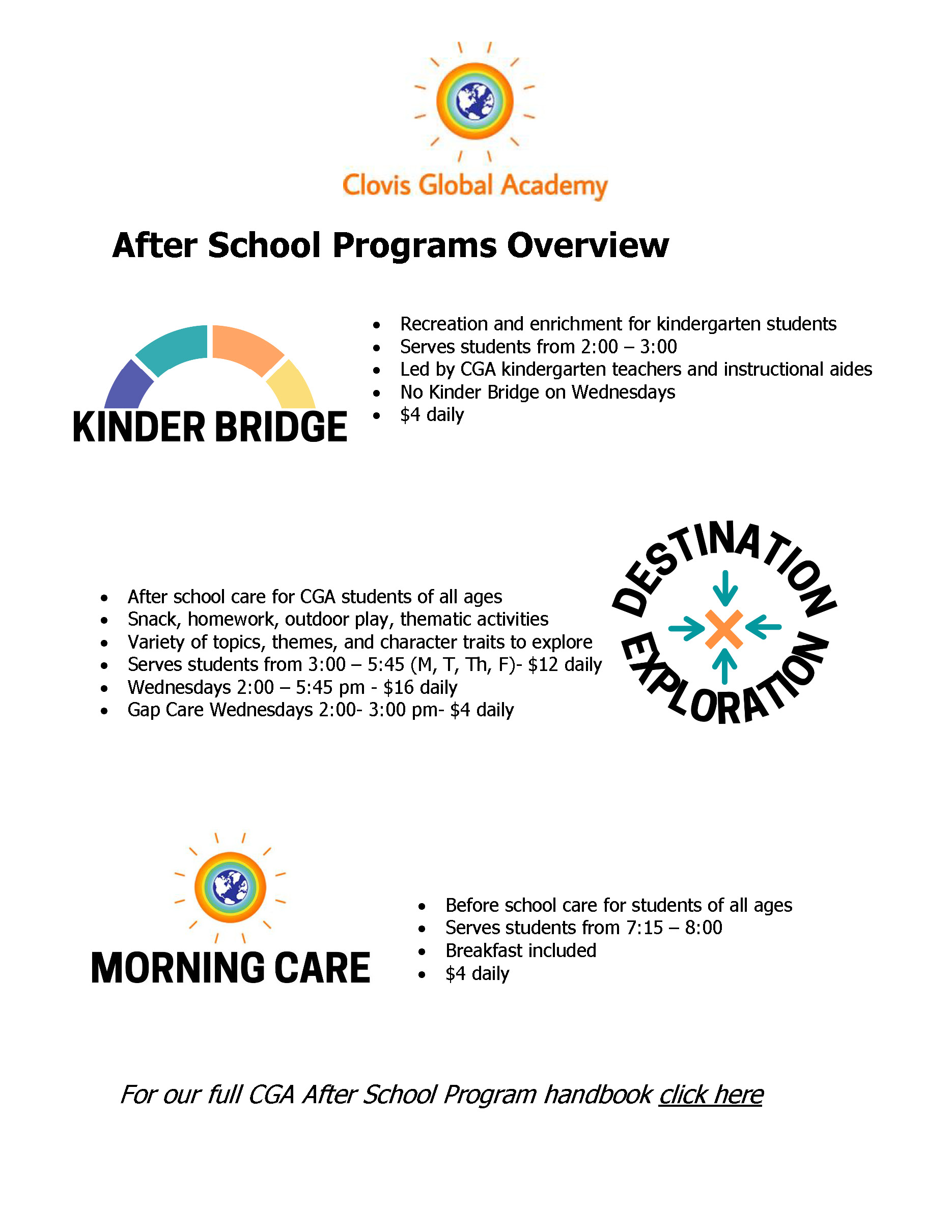 ASP Programs Overview Page ONLY